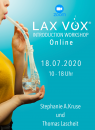ONLINE: LAX VOX® - Introduction Workshop